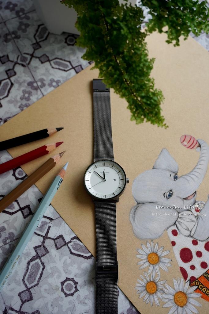 穿搭配件丹麥品牌 Nordgreen Philosopher 北歐簡約風格錶-網格鈦鋼錶帶,透氣好帶又擺搭│夏季穿搭專屬優惠碼DSC03028.JPG