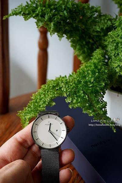 穿搭配件丹麥品牌 Nordgreen Philosopher 北歐簡約風格錶-網格鈦鋼錶帶,透氣好帶又擺搭│夏季穿搭專屬優惠碼DSC03052.JPG