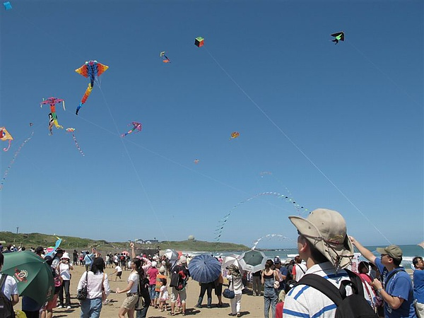 20100926 風箏節天氣很好 可惜風並不大.JPG