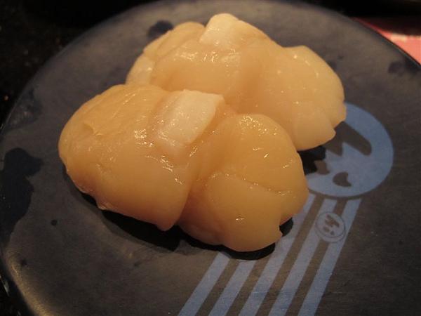 海壽司 干貝握壽司