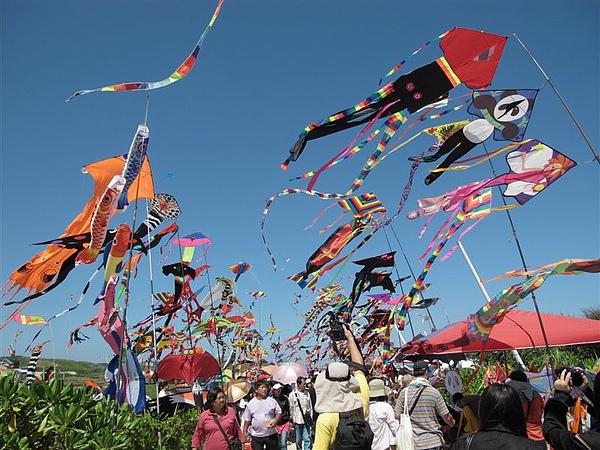 20100926 風箏節的風箏海.JPG