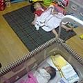 2012.05.25-01睡著的兩個寶貝