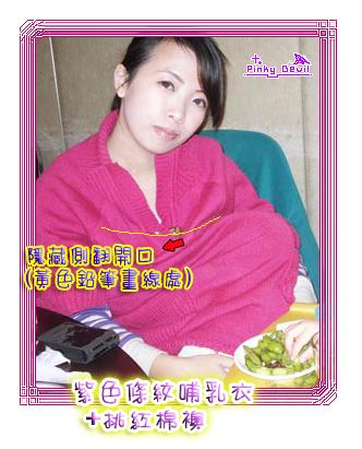 024*隱藏式內翻:紫色條紋哺乳衣+桃紅棉襖.png