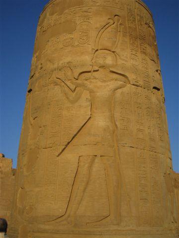 Ombo Temple石柱(2007.03.18).JPG