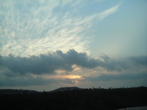 士胖說很漂亮的雲