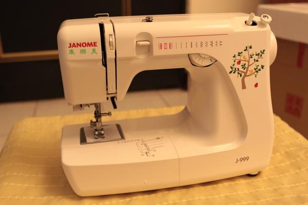 縫紉機本尊