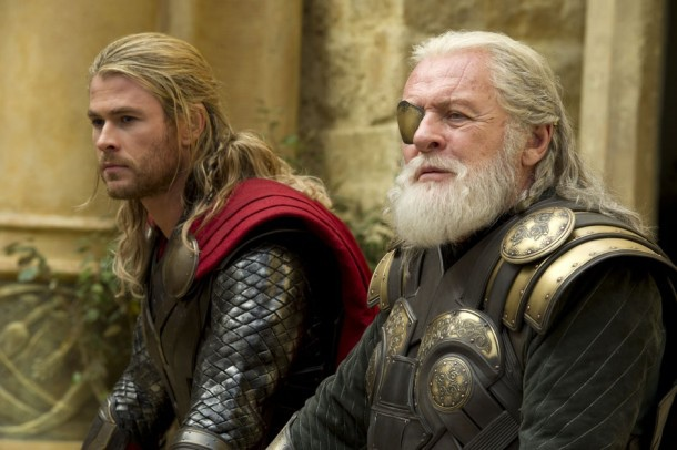 chris-hemsworth-with-anthony-hopkins-sitting-on-thor-2-dark-world-images-e1366948487443