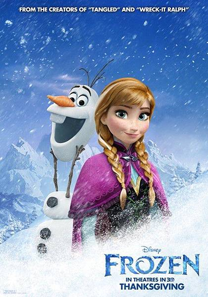 frozen-anna-olaf-poster