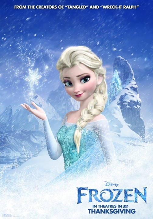 frozen-elsa-snow-queen-poster