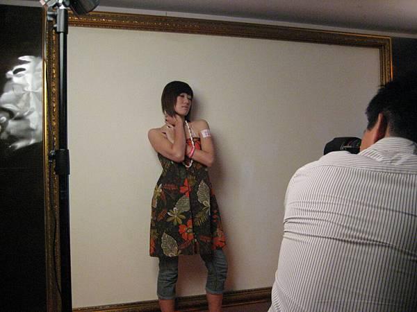 模特兒組拍攝