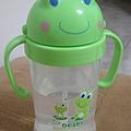 大眼蛙吸管杯