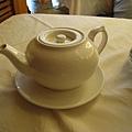 茶水,我們點菊花普洱茶