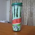 2006在大阪買的西瓜杯,讓我們走遍星巴克都立刻被記住