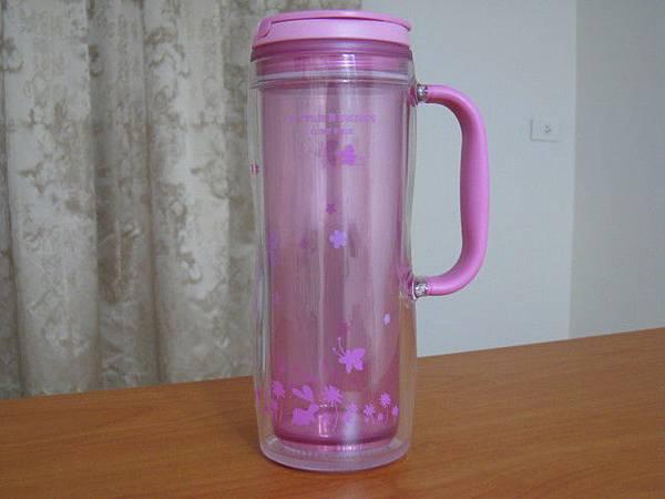 2008宜蘭入手的粉紫色黛安娜把手杯