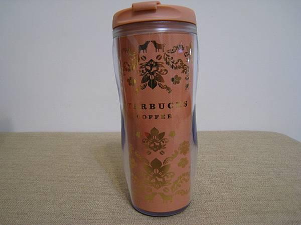 福袋裡的杯子,金光閃閃,顏色粉嫩