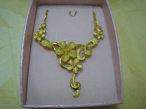 我結婚要戴的黃金項鍊