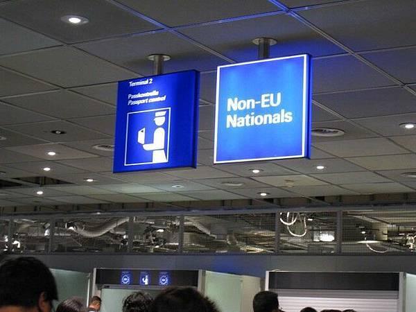 排「非歐盟」的窗口