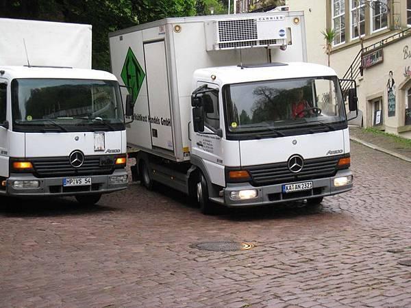 Benz的卡車