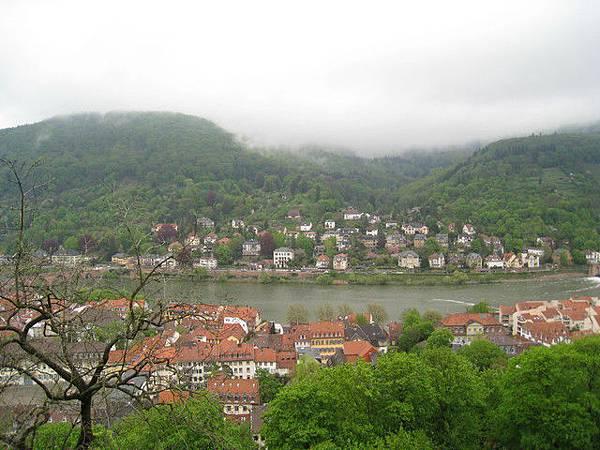 從海德堡觀景台看到的風景