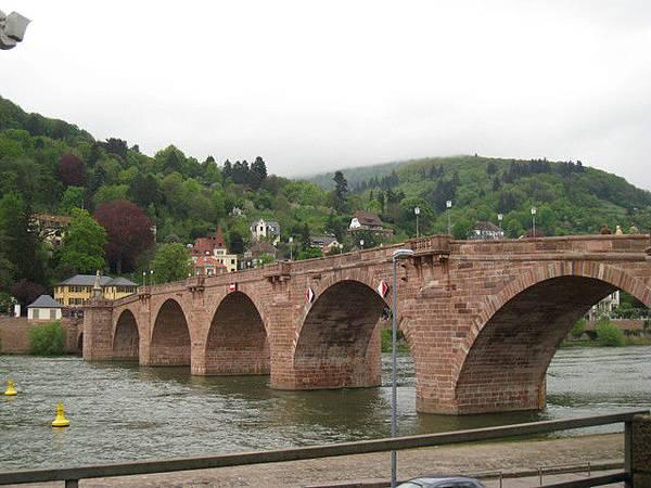 海德堡市區的「老橋」