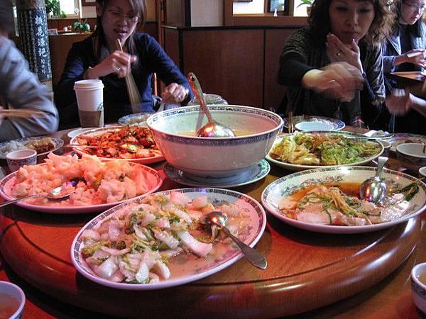 今日的午餐,在「亞洲酒店」中餐館