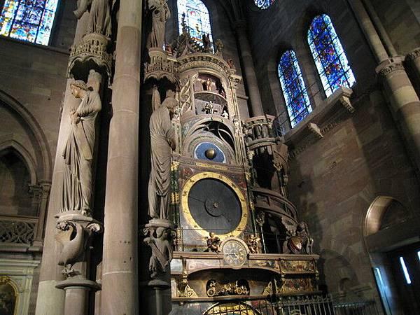 有名的「天文鐘」