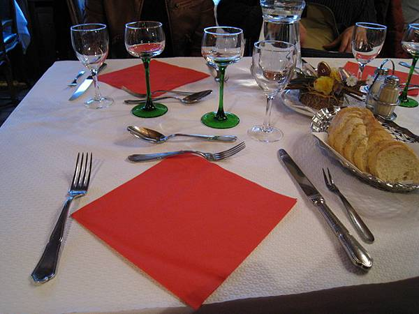 今日晚餐:亞爾薩斯風味餐