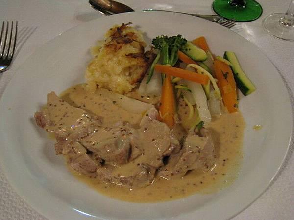 主菜:小豬肉