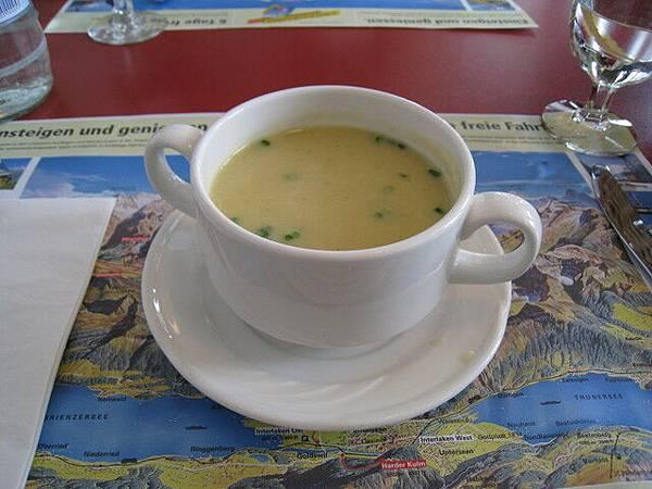 今日的午餐濃湯