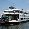 要搭船橫渡波登湖囉!過了波登湖,其實就是進入德國境內了