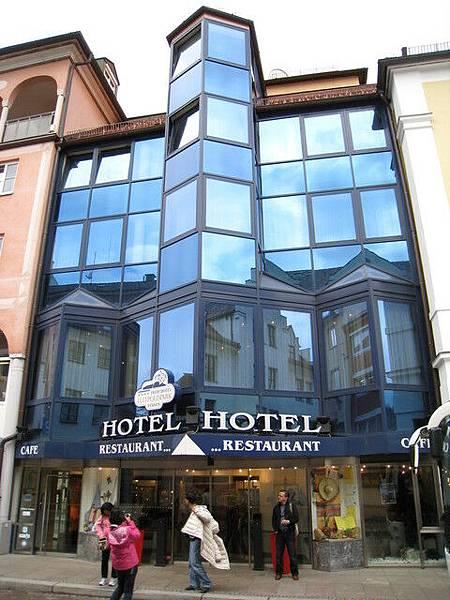 今日下榻的飯店,位於德國Fussen
