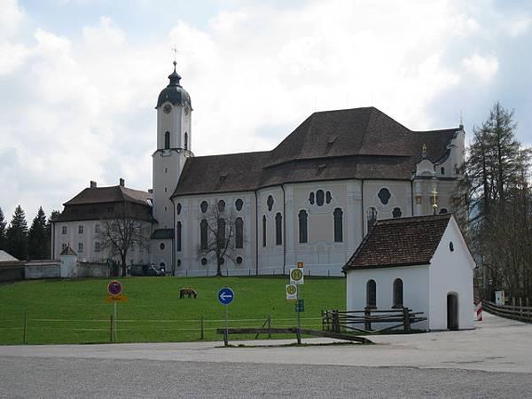 這是威斯教堂