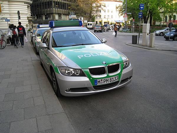 德國的警車!