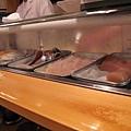 檯內的壽司料
