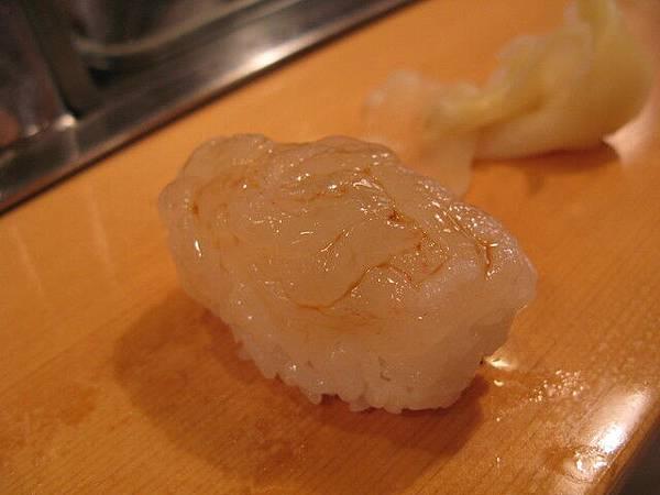 白海老,菜單的英文寫「Baby shrimp」
