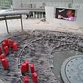 朝日電視台的廣場