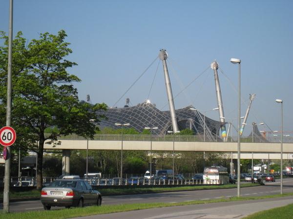 前奧林匹克選手村,現已改為公園