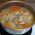 980808泡菜鍋變身味噌鍋