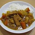 980811第一次煮咖哩飯,成功!