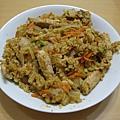 980815洋蔥豬肉蛋炒飯