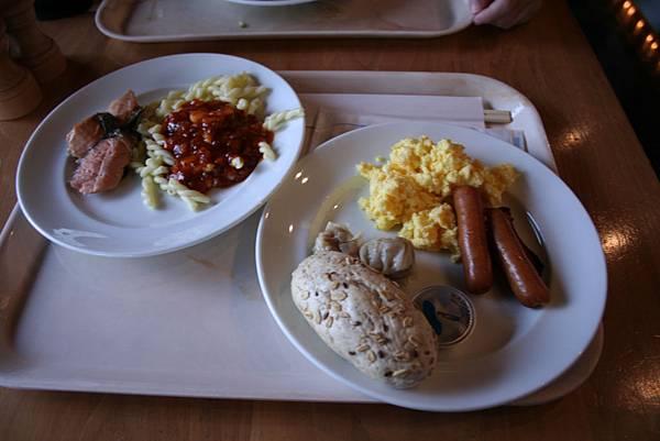 有洋式及和式早餐