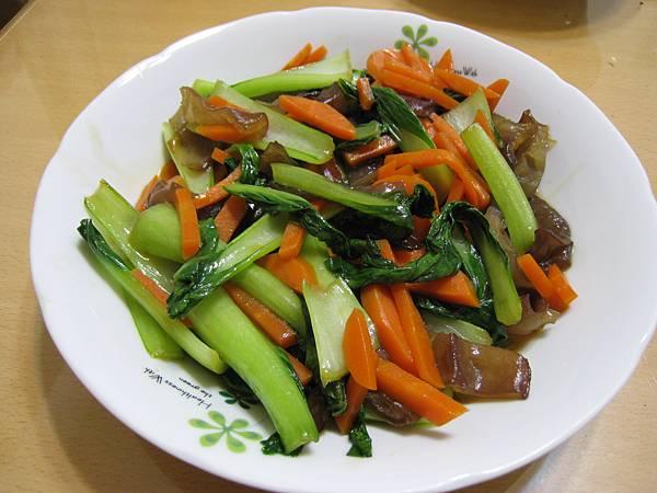 蠔油炒青江菜