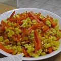紅蘿蔔玉米炒蛋