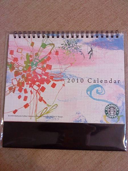 2010桌曆,用咖啡護照換的!