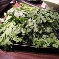 澎湖茼蒿,比一般茼蒿耐煮