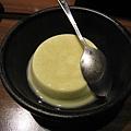 飯後甜點:抹茶奶凍