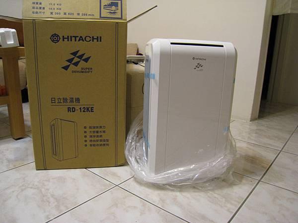 日立除濕機(RD-12KE)_20100122入手