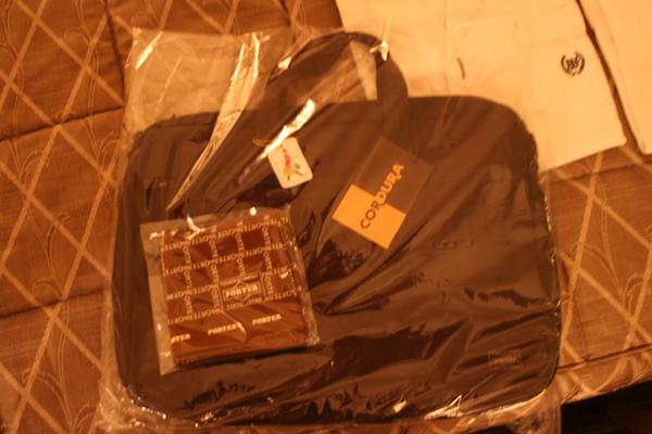 公事包和手帕