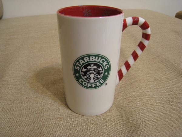2009耶誕柺杖糖馬克杯