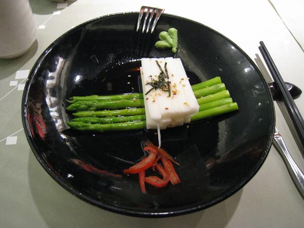 山藥蘆筍沙拉